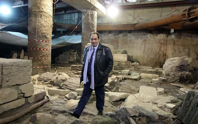 Antiquities can coexist with Thessaloniki metro, says minister