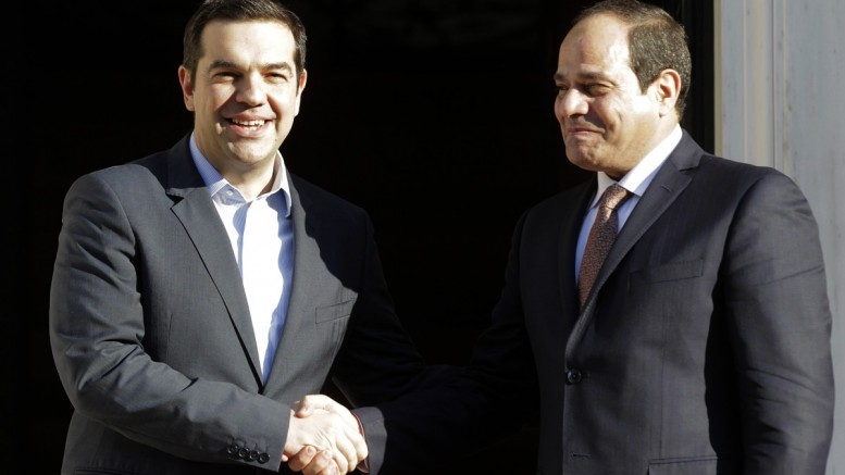 The trilateral meeting will send a message of peace and stability in the region, PM Tsipras says