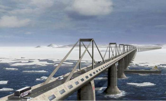 Οι Ρώσοι θέλουν να χτίσουν δρόμο από το Παρίσι ως τη Ν.Υόρκη (vid+pics)