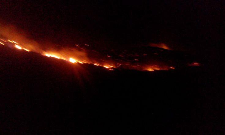 Μεγάλη πυρκαγιά στα Φαλάσαρνα