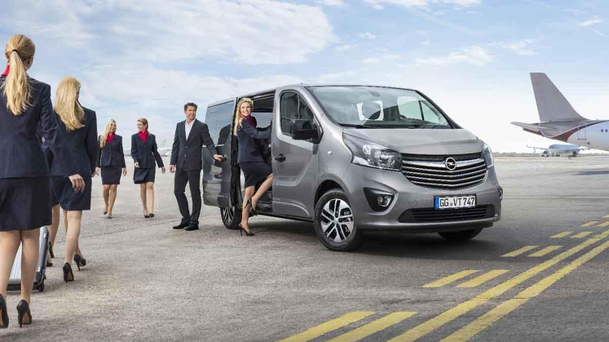 Business Class minibuses από την Opel