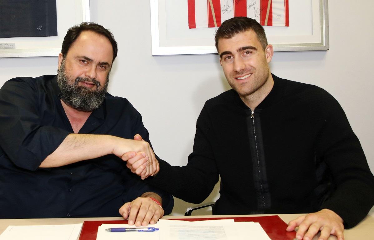 Παπασταθόπουλος: «Η πρόταση του Ολυμπιακού και τα όσα μου είπε ο Μαρινάκης μ' έκαναν να υπογράψω» (pics)